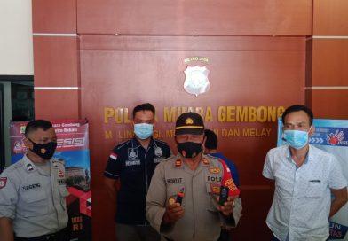 Polisi Amankan Pelaku  Pencuri Kambing Di Bekasi